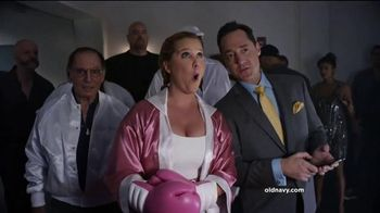 Old Navy TV Spot, 'Fight Night: 50% Off' Featuring Amy Schumer