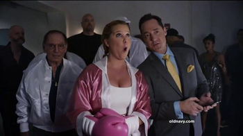 Old Navy TV Spot, 'Fight Night: 50 Percent Off' Featuring Amy Schumer - 253 commercial airings