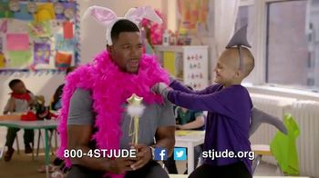 St. Jude Children's Research Hospital TV Spot, 'Thanks' Ft. Michael Strahan - 182 commercial airings