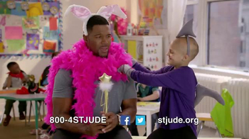 St. Jude Children's Research Hospital TV Spot, 'Thanks' Ft. Michael Strahan - 182 commercial airings