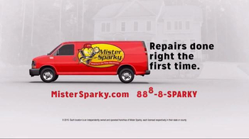 Mister Sparky TV Spot, 'Electrical Repair' Featuring Mike Rowe - Thumbnail 2