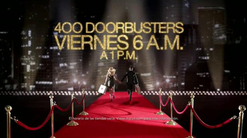 Macy's La Venta de Black Friday TV Spot, 'Doorbusters'  [Spanish] - Thumbnail 2