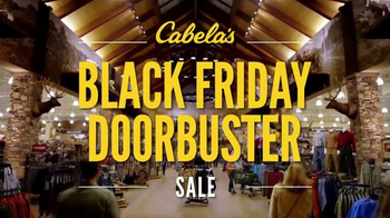 Cabela's Black Friday Doorbuster Sale TV Spot, 'First' - 144 commercial airings