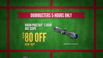 Cabela's Black Friday Doorbuster Sale TV Spot, 'First' - Thumbnail 5