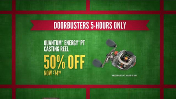 Cabela's Black Friday Doorbuster Sale TV Spot, 'First' - Thumbnail 6