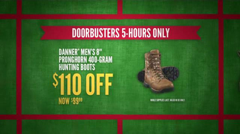 Cabela's Black Friday Doorbuster Sale TV Spot, 'First' - Thumbnail 7