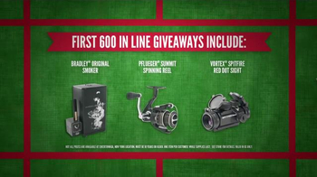 Cabela's Black Friday Doorbuster Sale TV Spot, 'First' - Thumbnail 9