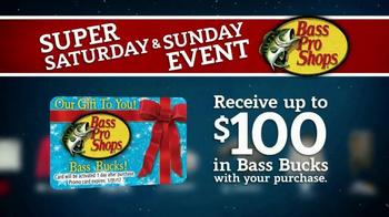 Bass Pro Shops Super Saturday and Super Sunday Sale TV Spot, 'Huge Savings' - Thumbnail 9
