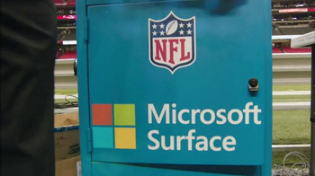 Microsoft Surface TV Spot, 'NFL Sidelines: Ravens vs. Cowboys' - Thumbnail 1