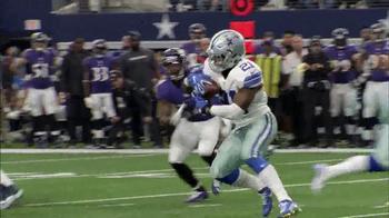 Microsoft Surface TV Spot, 'NFL Sidelines: Ravens vs. Cowboys' - Thumbnail 7