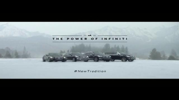 2016 The Power of Infiniti TV Spot, 'New Winter Tradition' - Thumbnail 8