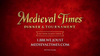 Medieval Times TV Spot, 'Dinner and Tournament' - Thumbnail 10