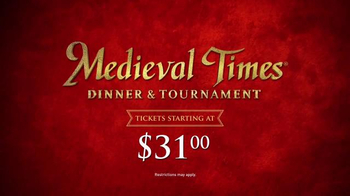 Medieval Times TV Spot, 'Dinner and Tournament' - Thumbnail 8