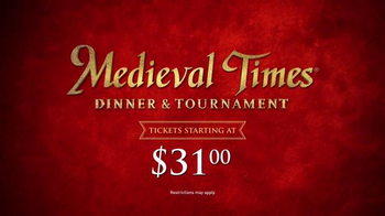 Medieval Times TV Spot, 'Dinner and Tournament' - Thumbnail 9
