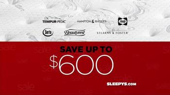 Sleepy's Thanksavings Sale TV Spot, 'Quilted Pillows' - Thumbnail 1