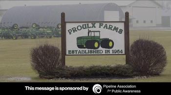 Pipeline Association for Public Awareness TV Spot, 'Proulx Farms' - Thumbnail 1