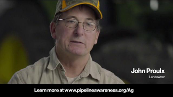 Pipeline Association for Public Awareness TV Spot, 'Proulx Farms'