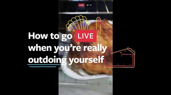 Facebook Live TV Spot, 'Thanksgiving'