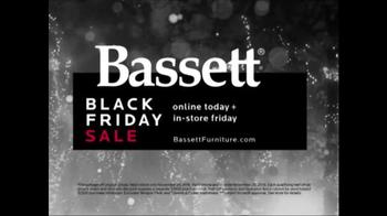 Bassett Black Friday Sale TV Spot, 'Save Storewide'