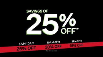 Ashley HomeStore Black Friday Sale TV Spot, 'Beat the Clock' - Thumbnail 5