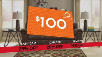 Ashley HomeStore Black Friday Sale TV Spot, 'Beat the Clock' - Thumbnail 8