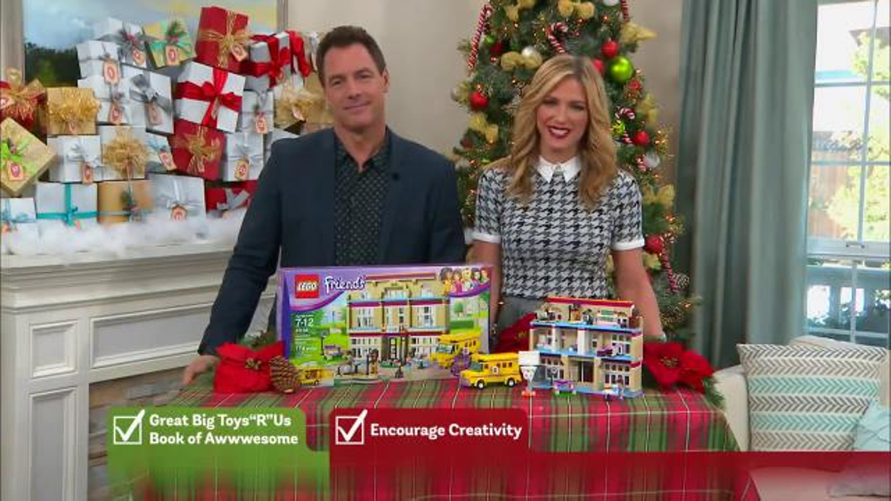 toys r us tv commercial hallmark channel lego friends performance school ispottv - What Time Does Toys R Us Close On Christmas Eve