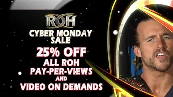 ROH Wrestling Cyber Monday Sale TV Spot, 'Extreme' - Thumbnail 2