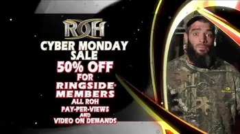 ROH Wrestling Cyber Monday Sale TV Spot, 'Extreme' - Thumbnail 4