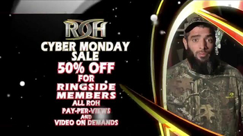 ROH Wrestling Cyber Monday Sale TV Spot, 'Extreme' - Thumbnail 5