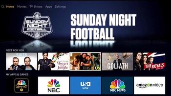 Amazon Fire TV TV Spot, 'NBC Sports App: The Best Extra Content' - Thumbnail 4