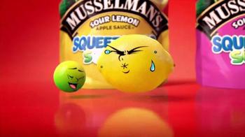 Musselman's Squeezables Sours TV Spot, 'Sour-cising'