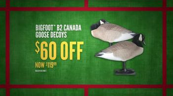Cabela's Cyber Monday TV Spot, 'Rubber Boots, Goose Decoys and Shirts' - Thumbnail 7