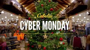 Cabela's Cyber Monday TV Spot, 'Rubber Boots, Goose Decoys and Shirts' - 416 commercial airings