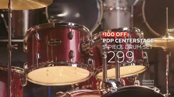 Guitar Center Black Friday TV Spot, 'Drum Set & Ukulele' Song by Run D.M.C