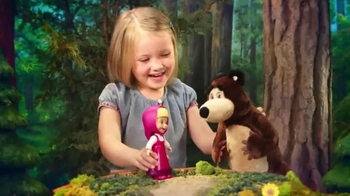 Masha and the Bear Snap 'N Fashion Masha TV Spot, 'Ready in a Snap'