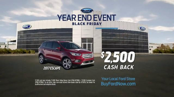 Ford Year End Event TV Spot, 'Black Friday: 2017 Escape' - Thumbnail 6