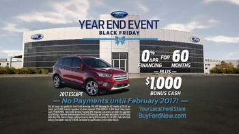 Ford Year End Event TV Spot, 'Black Friday: 2017 Escape' - Thumbnail 7