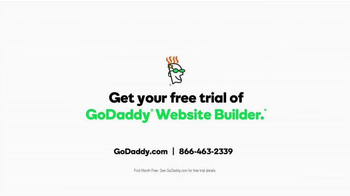 GoDaddy Website Builder TV Spot, 'Easy' - Thumbnail 9