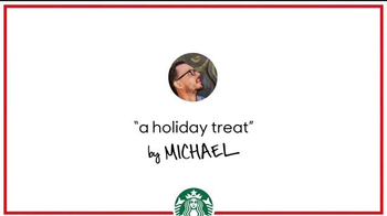 Starbucks TV Spot, 'Holiday Craft: Michael's Chestnut Praline Latte'