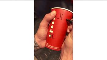 Starbucks TV Spot, 'Holiday Craft: Michael's Chestnut Praline Latte' - Thumbnail 4