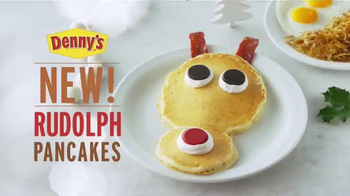 Denny's Rudolph Pancakes TV Spot, 'Here for the Holidays' - Thumbnail 10