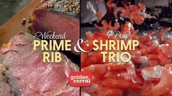 Golden Corral TV Spot, 'Prime Rib and Shrimp Trio' Featuring Jeff Foxworthy - Thumbnail 8