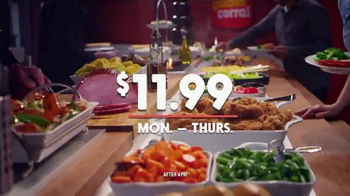 Golden Corral TV Spot, 'Prime Rib and Shrimp Trio' Featuring Jeff Foxworthy - Thumbnail 5