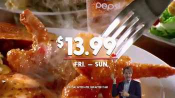 Golden Corral TV Spot, 'Prime Rib and Shrimp Trio' Featuring Jeff Foxworthy - Thumbnail 7