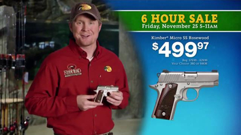 Bass Pro Shops 6 Hour Sale TV Spot, 'Ammunition and Pistol'