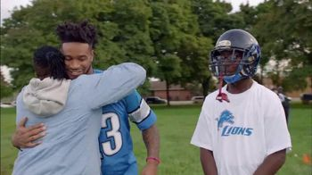 NFL TV Spot, 'Football Families: Detroit Lions Mom' Featuring Darius Slay - 1 commercial airings