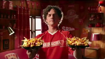 Wendy's Bacon Sriracha Fries TV Spot, 'Fan/Hincha' [Spanish] - 929 commercial airings