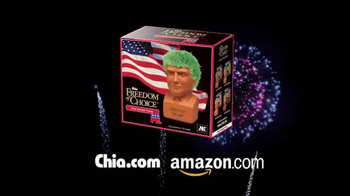 Chia Pet Freedom of Choice TV Spot, 'Donald Trump' - Thumbnail 3
