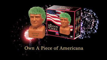 Chia Pet Freedom of Choice TV Spot, 'Donald Trump' - 120 commercial airings