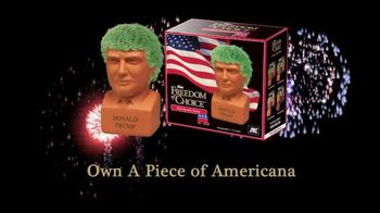 Chia Pet Freedom of Choice TV Spot, 'Donald Trump' - 121 commercial airings